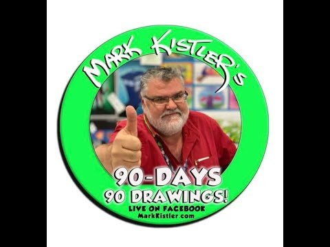 90-Days! 90-Drawings! Live Webcast At Ralph Parr Elementary School