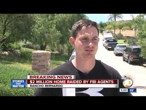 Multi-million dollar Rancho Bernardo home raided by FBI agents