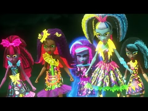 Monster High™ 💜⚡️The Night of the Zomboyz | Electrified | Cartoons for Kids
