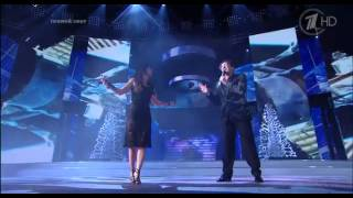 Ани Лорак и Григорий Лепс - Медленно, Зеркала (Роза Хутор. Рождество-2015)