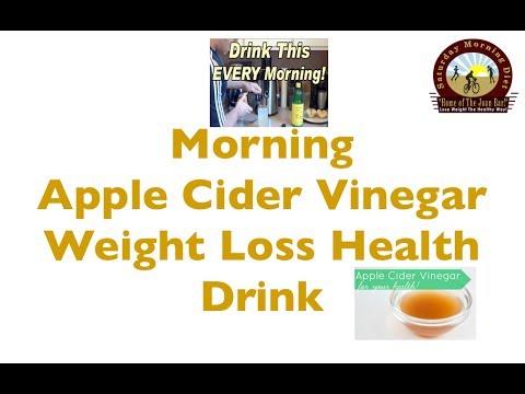 Morning Apple Cider Vinegar Weight Loss Health Drink- You ...