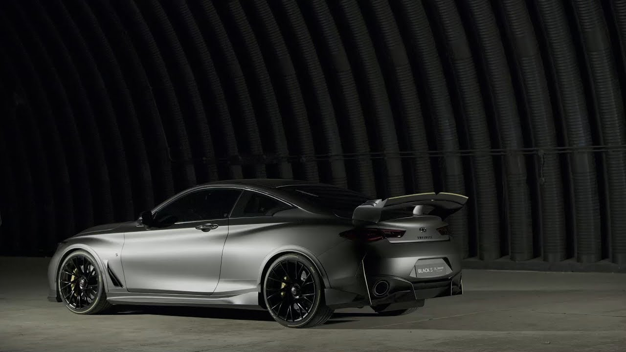 Infiniti Project Black S Is A 563bhp Q60 With F1 Tech