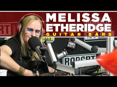 Melissa Etheridge Freestyles About Hillary & Trump - Guitar Bars
