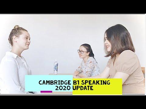 CAMBRIDGE B1 PET - SPEAKING SKILL | 2020 EXAM UPDATES