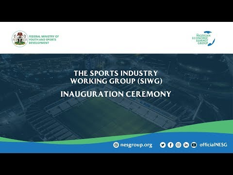 Sports Industry Working Group - Inauguration Ceremony 1