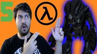 Half Life Black Mesa - Bölüm 5 - Robot Canavar