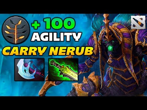 Miracle NYX Carry Nerub 7.07 Dota 2