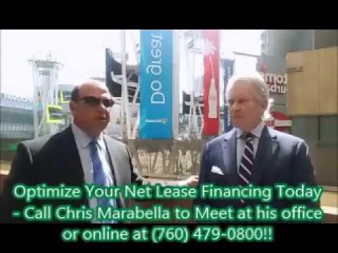 Optimizing Your Net Lease / 1031 Exchange Financing - Chris Marabella and Sean O'Shea at LA Live