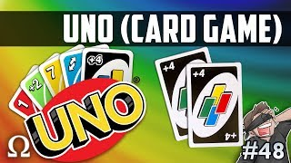 THE DOUBLE +4 CLUTCH?! | Uno Card Game #48 Funny Moments Ft. Vanoss, Jiggly, Brian