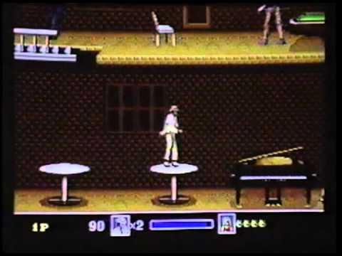 1990 Sega Genesis - Michael Jackson Moonwalker - Classic Commericial