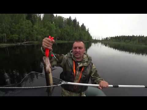Рыбалка в Карелии. Медвежьегорский район