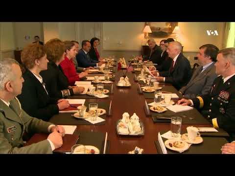 Xhaçka pritet nga sekretari amerikan i Mbrojtjes: Shqipëria aleat i denjë