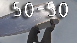 POV Skate Tutorial #9: How to 50-50 on a ledge