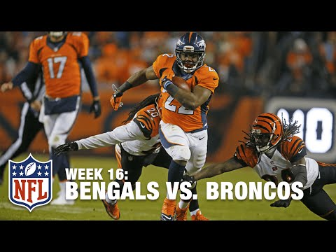 C.J. Anderson Eludes Bengals Defense for TD & Lead! | Bengals vs. Broncos | NFL