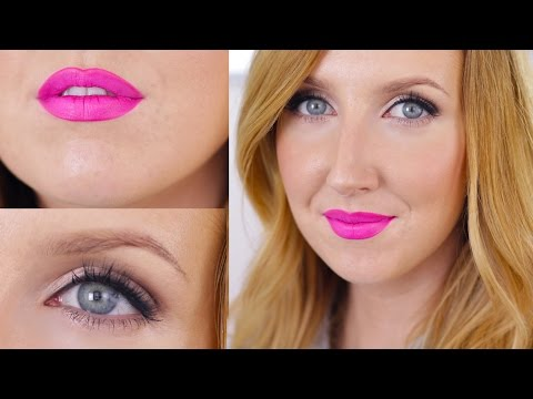 CANDY YUM YUM! Neon Pink Lips and Bronzed Skin (My New Favorite Look)