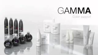 Стойкая гипоаллергенная крем-краска для волос GAMMA на фитокератине