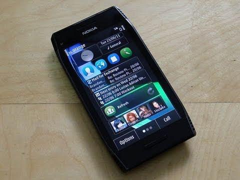 Nokia X7 Software Tour