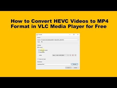 How to Convert HEVC Videos to MP4 Format in VLC Media Player?