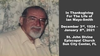 Funeral of Ian Mayo-Smith at St. John Divine