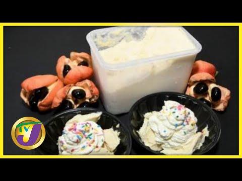 Jamaican Chef Creates Ackee Ice-Cream | TVJ Smile Jamaica