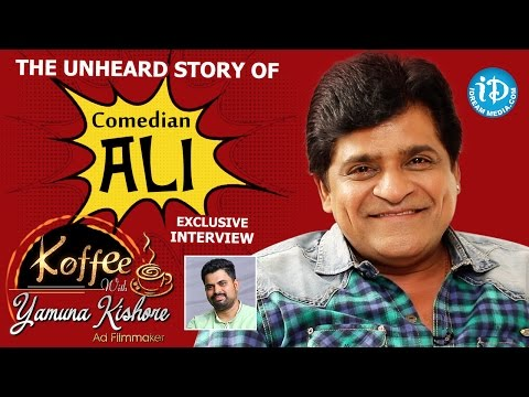The Unheard Story Of Comedian Ali || Exclusive Interview || Koffee With Yamuna Kishore #15 || #389