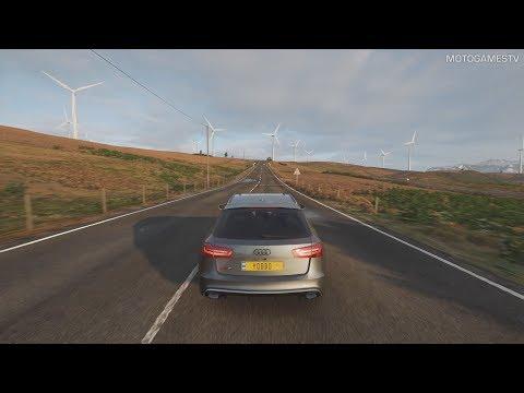 Forza Horizon 4 - 2015 Audi RS6 Avant Gameplay