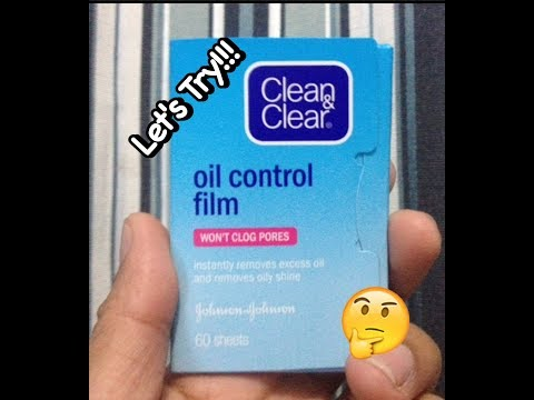 Clean & Clear (Oil Control Film)-Ton's Try It!!!