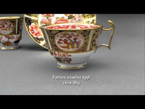Antique Spode regency period porcelain trio circa 1814