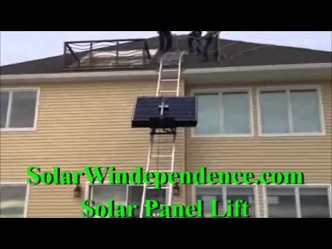 Solar Panel Lift