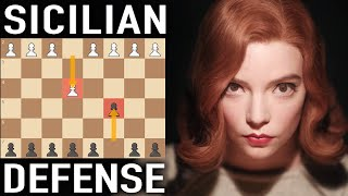 Play the Sicilian Defense like Beth Harmon