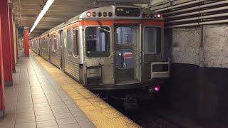 SEPTA HD 60fps: Kawasaki B-IV Broad St. Line PM Express Trains Flying Through North Philadelphia