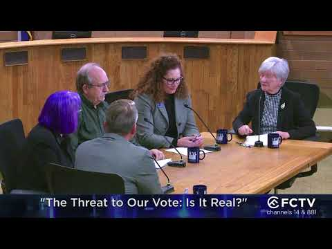 CrossCurrents - The Threat to Our Vote: Is It Real?