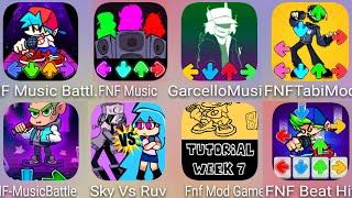 Fnt Mod Game,FNF Music Battle,Garcello Music,FNF Tabi Mod,FNF Beat Hit,Friday Funkin Full Mod,Sky Vs screenshot 4