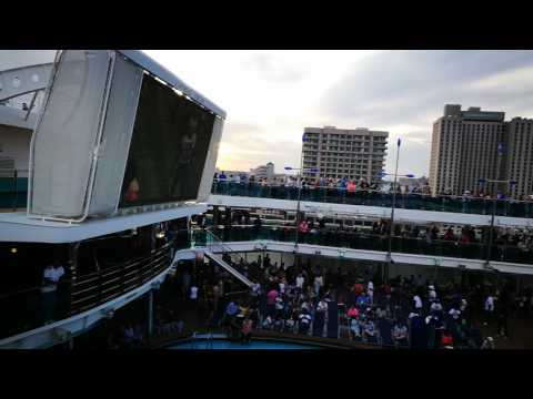 Carnival dream out of port New Orleans Nov 2016