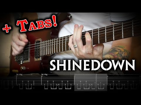 Shinedown - Monsters (Guitar Cover W/Solo & Tabs)