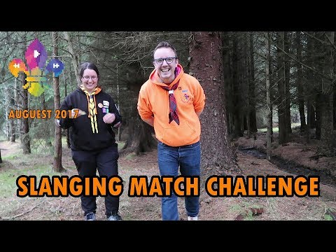 Slanging Match Challenge (ft. Anja Johnson) | SCOUTADELIC