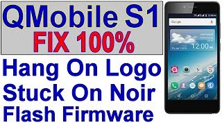 Qmobile M350 Pro Hang on Logo Solution 100%