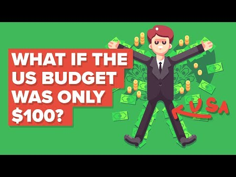 What If The US Budget Was Only $100 - How Would It Spend It?