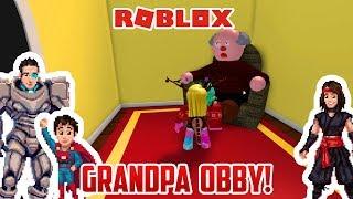 WE MUST ESCAPE GRANDPA. | Roblox Escape Grandpa Obby!