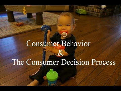 Consumer behavior process for men