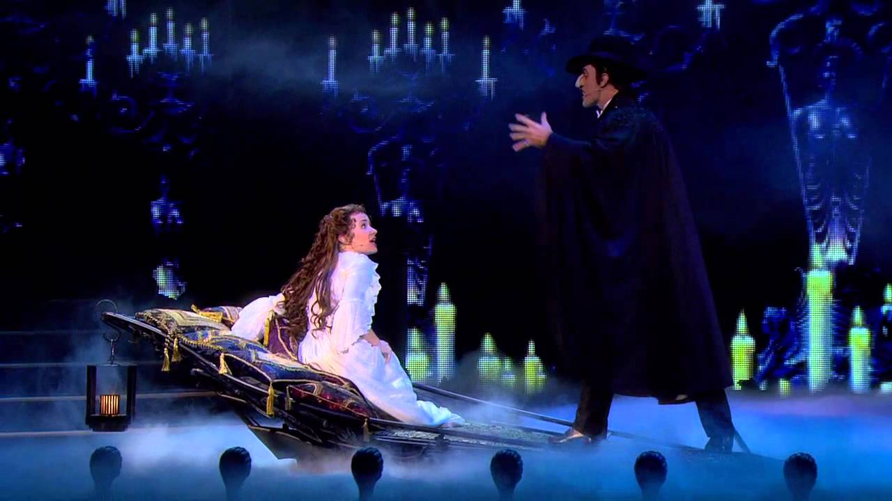 Image result for sierra boggess and ramin karimloo phantom of the opera