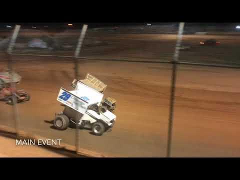 Carolina Sprint Tour At Harris Speedway 8/10/19
