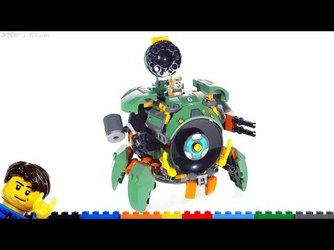 LEGO Overwatch Wrecking Ball review! 75976