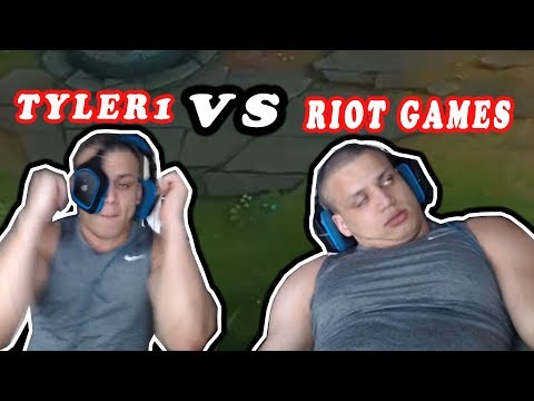 TYLER1 VS RIOT GAMES MATCHMAKING | GOSU'S TOWERS DON'T HIT MINIONS | IMAQTPIE | LOL MOMENTS