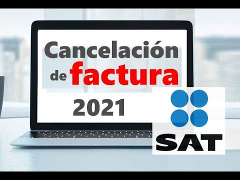 Cancelación De Facturas 3 3 En Portal Del Sat 2019 2020