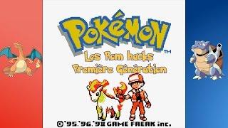 Les Rom Hacks de Pokémon - 1ere génération