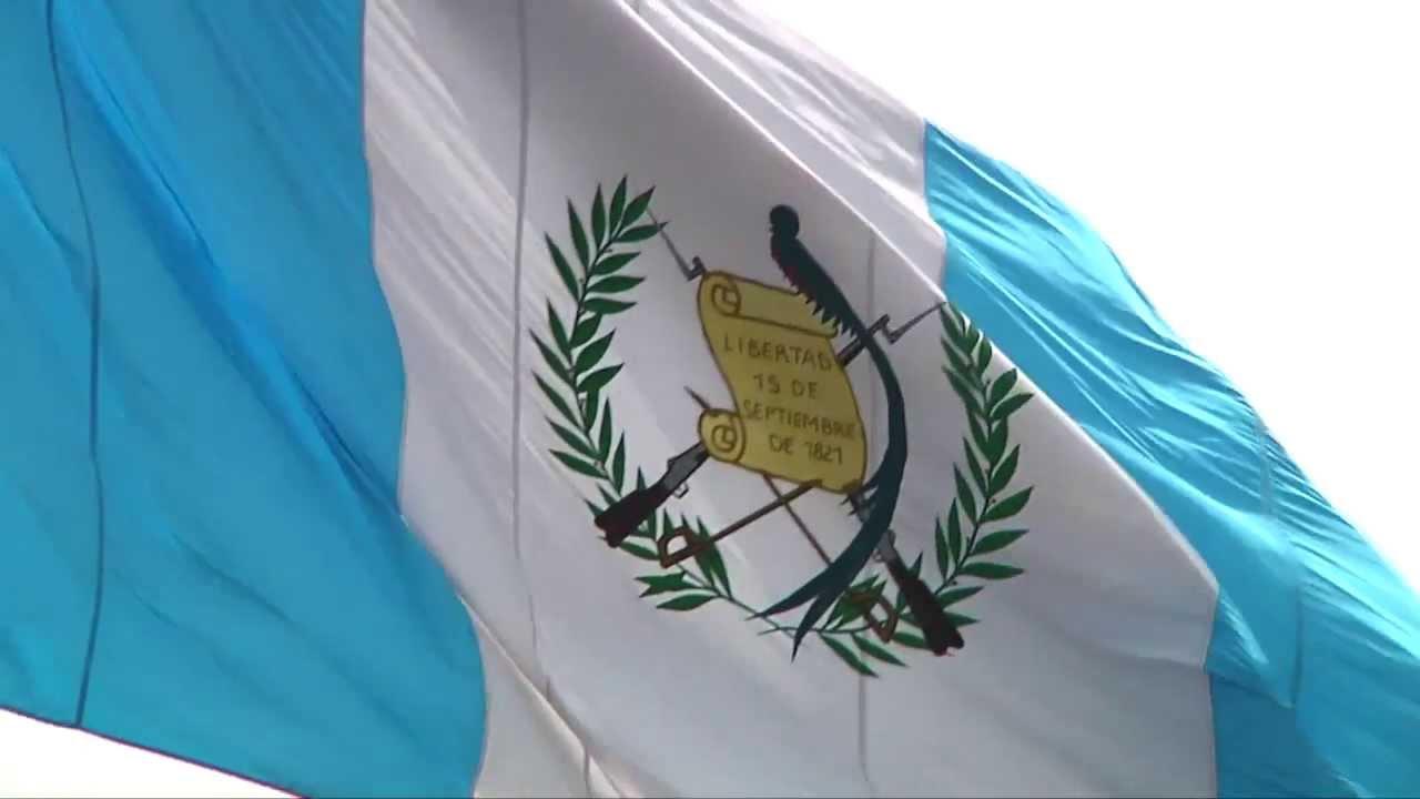 Himno Nacional & Bandera de Guatemala - YouTube