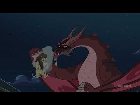 Рик и Морти - Рик и Дракон