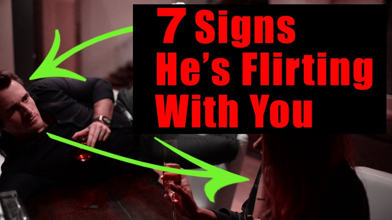 female coworker flirting signs