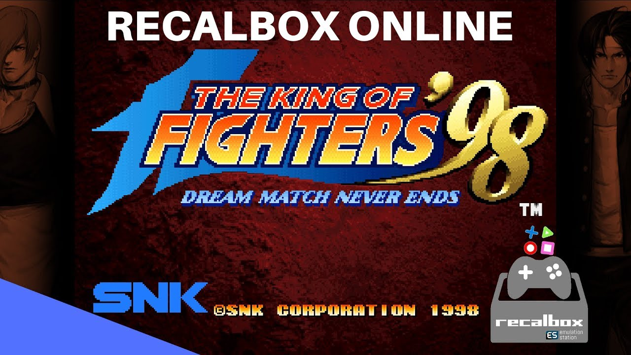 THE KING OF FIGHTERS 98 NO RECALBOX ONLINE FT 10| NETPLAY ONLINE |  RASPBERRY PI3| RETROARCH